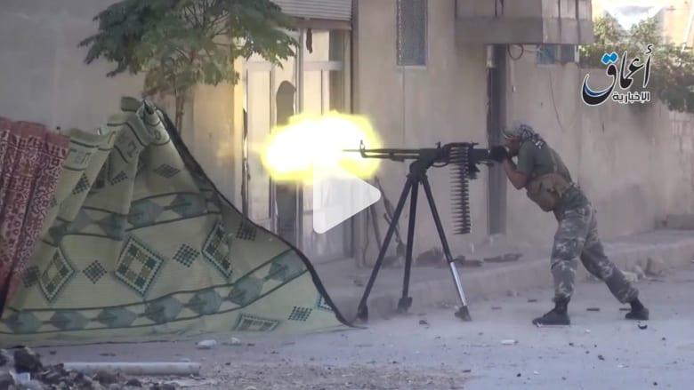 اشتباكات بشوارع كوباني بين مقاتلي داعش والأكراد والجيش السوري الحر