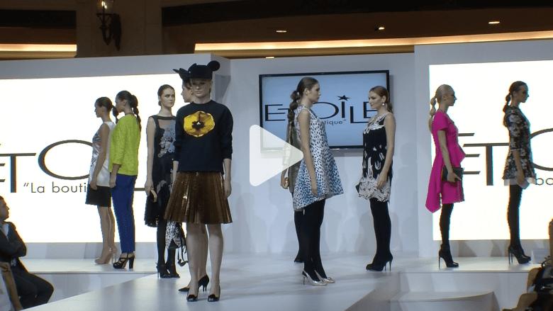 """""""عالم من الأزياء"""" في دبي يختار نجوى كرم نجمة الأناقة"""
