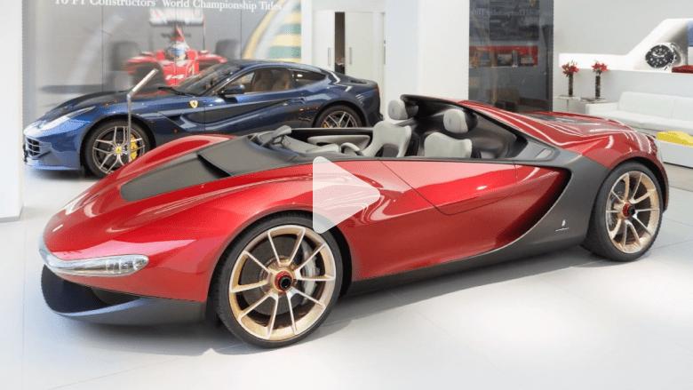 بالفيديو: فيراري سيرجيو.. واحدة من أكثر السيارات حصرية في العالم