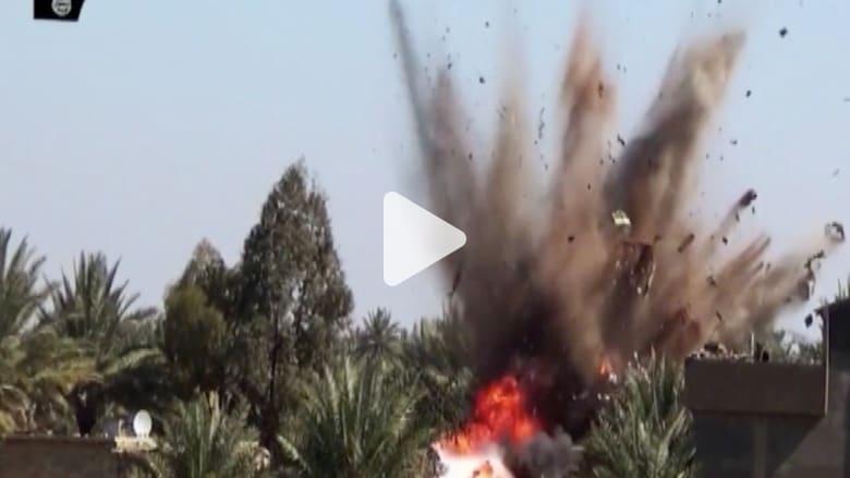 بالفيديو.. لحظة تدمير مقاتلات بريطانية لمركبات تابعة لداعش في العراق