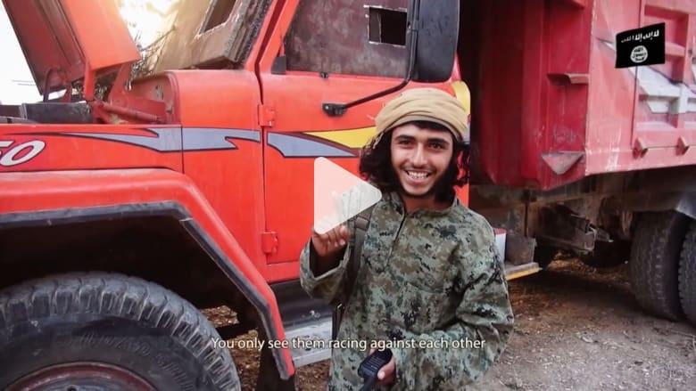 """فيديو دعائي لـ """"داعش"""" يصور انتصاراتهم ويصف أوباما وبوش بالكذب"""