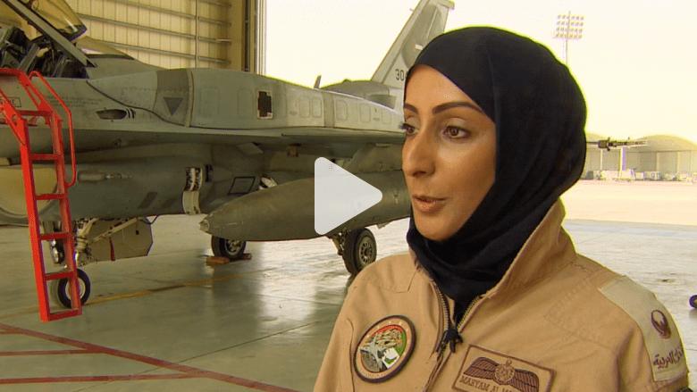 #المؤثرون_2014: مريم المنصوري.. أول إماراتية تقود طائرة مقاتلة
