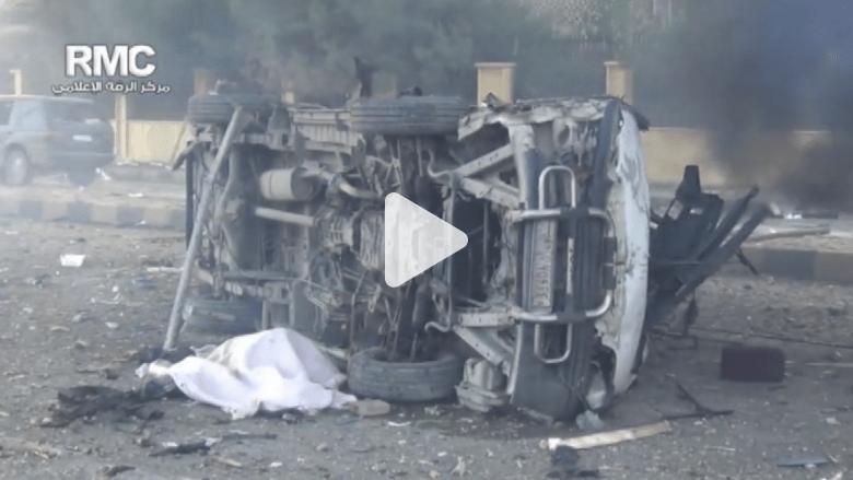 """100 قتيل بغارات التحالف على معاقل """"داعش"""" في الرقة"""