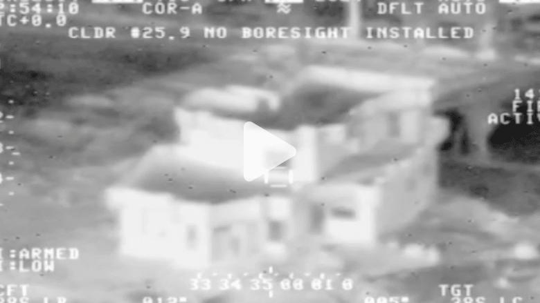 بالفيديو.. لحظة تدمير أهداف لداعش في الأنبار