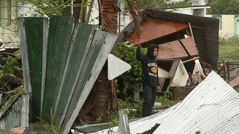 إعصار هاغوبيت يضرب بقوة مدن الفلبين