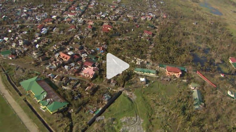 هذا هو الدمار الذي خلفه إعصار هاغوبيت