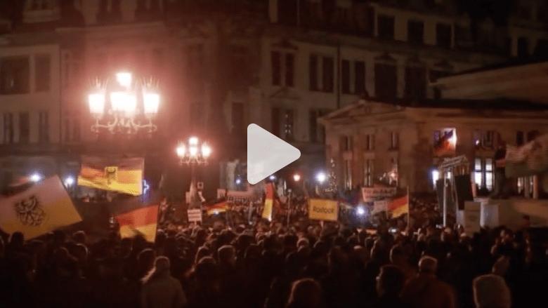 آلاف القوميين الألمان يتظاهرون ضد أسلمة الغرب