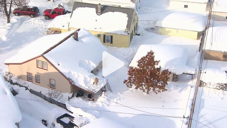 ذوبان أكثر من 7 أقدام من الجليد.. ماذا يمكن أن يحل بمدينة بفالو؟