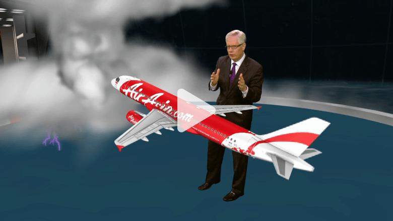 """كارثة """"طيران آسيا""""... فضاء """"زلق""""؟ أم طقس عاصف؟"""