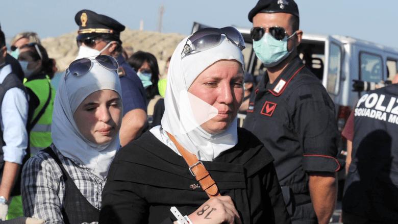 """""""سفن الأشباح"""" لاجئون سوريون هربوا من الحرب ليواجهوا تجارة البشر"""