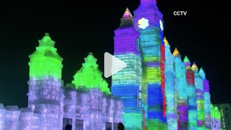 شاهدوا أعظم مهرجان دولي للثلج والجليد في الصين