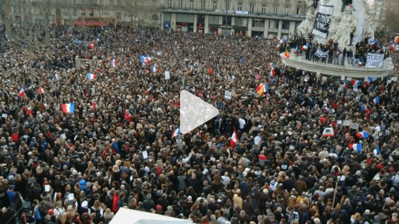 شعب فرنسا يتوحد حزنا على ضحايا الإرهاب 3 أيام من الرعب