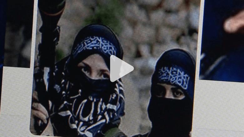 """صبية فرنسية تحلم بالعيش في """"دولة الخلافة"""" بسوريا"""