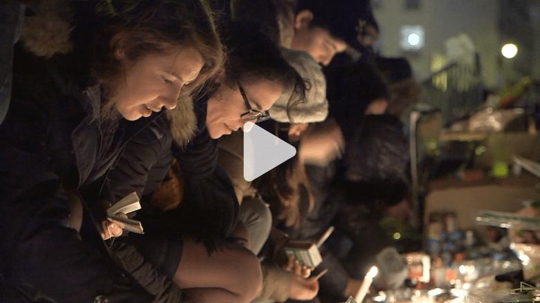"""مشاهد من حداد """"الجالية اليهودية"""" بباريس بعد الهجمات الإرهابية"""