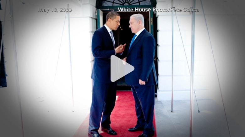 """نتنياهو بمعركة ضد أوباما أمام الكونغرس فيما يتعلق بـ """"عقوبات إيران"""""""