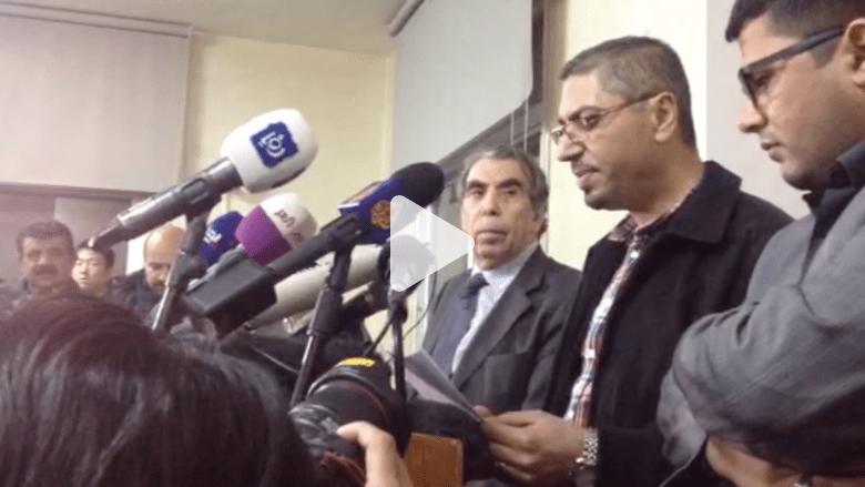 """بالفيديو.. لجنة مناصرة الطيار الكساسبة تطالب الحكومة الأردنية بإشراكها بالتفاوض مع """"داعش"""""""