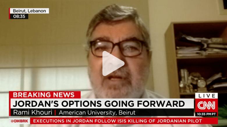 رامي خوري لـ CNN: العرب يريدون هزم داعش لكن ليس تحت راية أمريكية