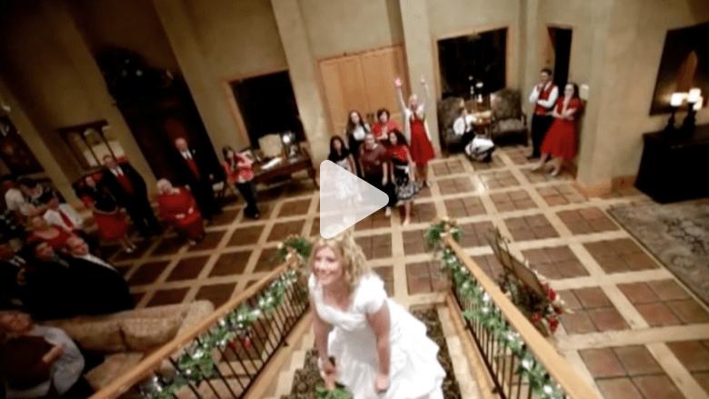 سيدة تسعى لتحقيق رقم قياسي بجمع باقات الزفاف