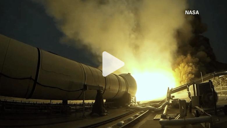 شاهد أكبر وأقوى صاروخ صنعته ناسا حتى الآن