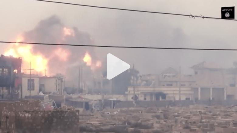 العراق.. تفجير مبنى أمني في هجوم انتحاري مزدوج لمسلحي داعش بالرمادي