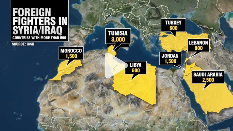 """تونس.. معسكر التجنيد الأول لـ""""داعش"""" ونجاح قصتها رهن بتحديات العنف"""