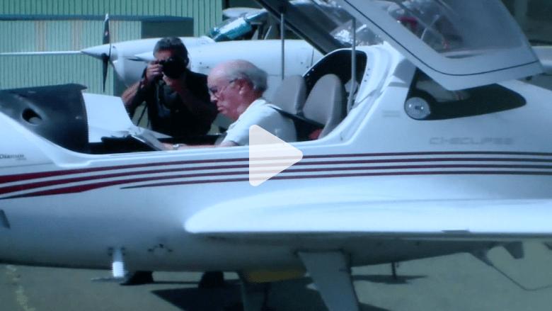 """أمريكي عمره 95 سنة يحاول تحطيم الرقم القياسي كـ""""أكبر طيار"""""""