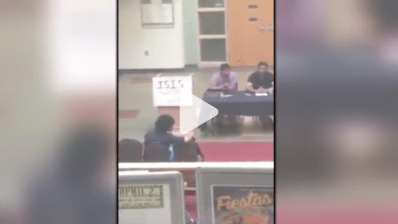 """بالفيديو.. جامعة نيومكسيكو .. """"داعش"""" يشق صف الطلبة بشأن ندوة للحوار"""