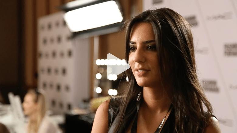 """لما جوني: الانفتاح مطلوب عند المصممين العرب والنساء يحببن """"الحرية"""" في الأزياء"""