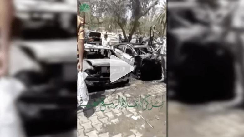 بالفيديو.. سلسلة تفجيرات بسيارات مفخخة تهز أرجاء بغداد