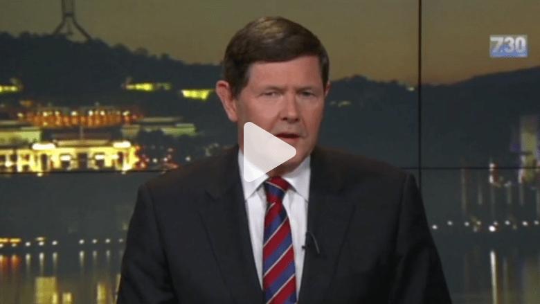 بالفيديو.. وزير دفاع استراليا يرفض ذكر اسم زعيم داعش خلال لقاء تلفزيوني