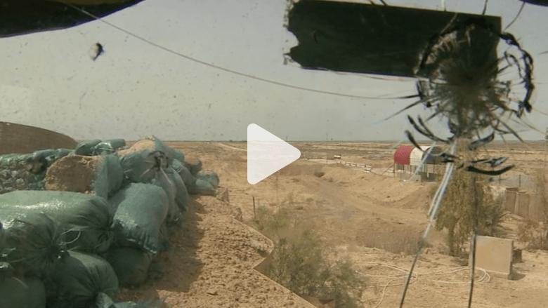 """عدسة CNN تلتقط قصف""""داعش"""" في الرمادي"""