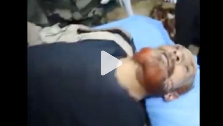 بالفيديو .. شاهد فحص جثة يعتقد أنها لعزة الدوري في مشرحة بغداد