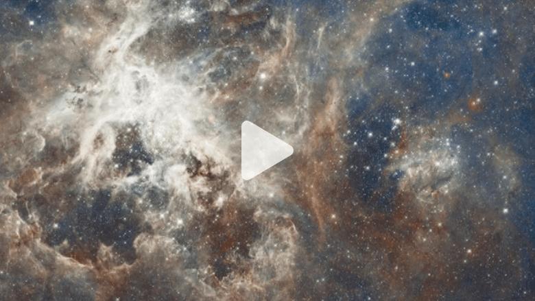 بالفيديو: بعد 25 عاماً على إطلاقه.. بعض أجمل ما التقطه هابل للكون