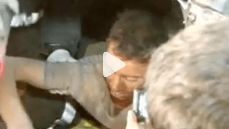 بالفيديو.. إنقاذ نيبالي احتُجز تحت الحطام لـ4 أيام بعد الزلزال