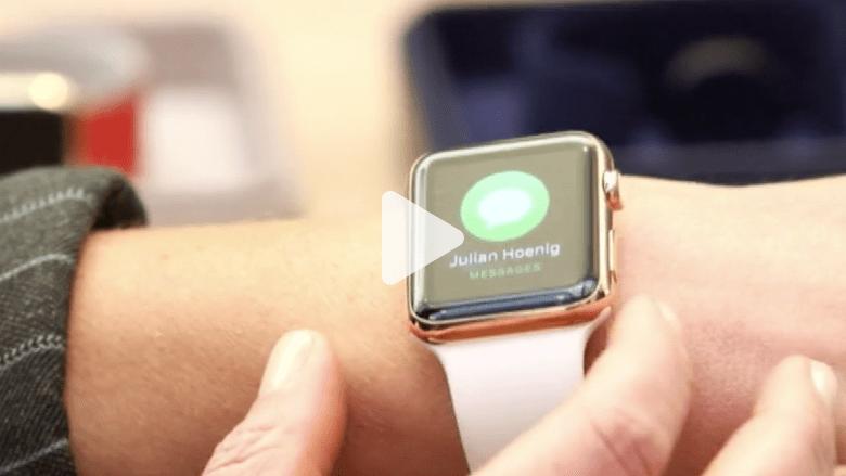 بالفيديو.. ساعة أبل الذكية تباع بـ349 دولارا.. ولكن لن تصدق كم تبلغ كلفة تصنيعها