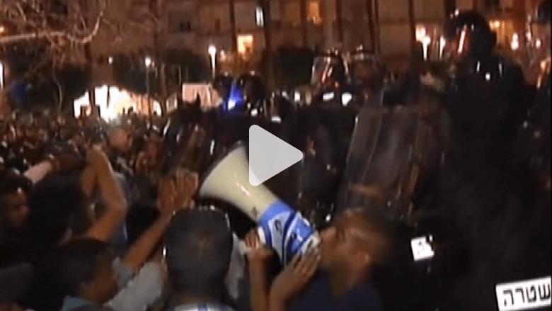 نتانياهو يجتمع برموز الشريحة اليهودية الإثيوبية بعد أعمال عنف واسعة أعقبت ضرب جندي إثيوبي