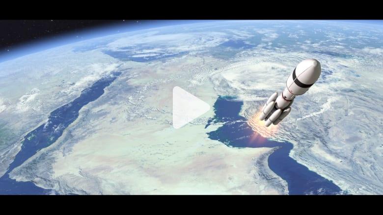"""بالفيديو: """"مسبار الأمل"""" بسواعد إماراتية يستكشف المريخ بروح عربية"""