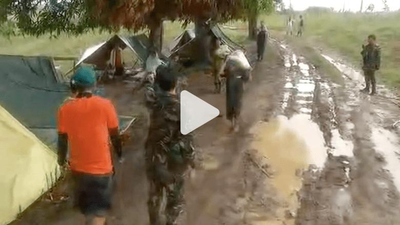 """عمليات إخلاء في الفلبين بعد إعصار """"نول"""""""