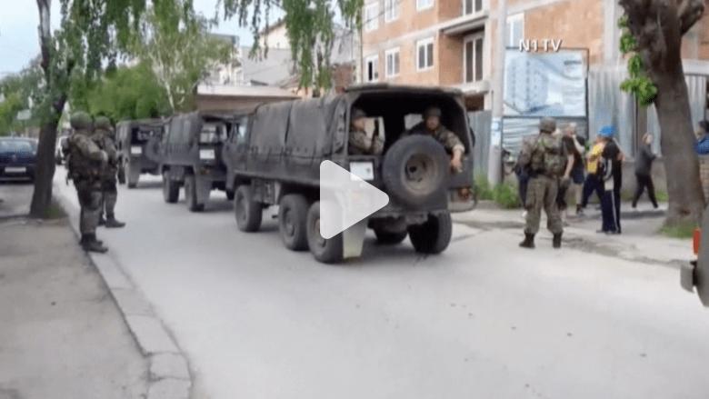 بالفيديو.. مقتل 5 من الشرطة في اشتباكات داخل حي يسكنه الألبان بمقدونيا