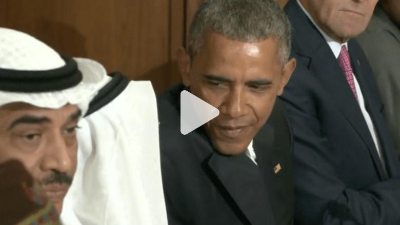أوباما: سنستخدم كل الوسائل اللازمة بما فيها العسكرية للدفاع عن حلفائنا في الخليج
