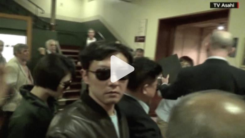 بالفيديو.. كيم جونغ تشول شقيق زعيم كوريا الشمالية في لندن