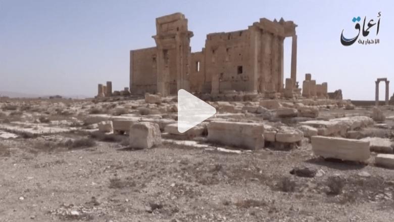 فيديو جديد لداعش من أطلال تدمر