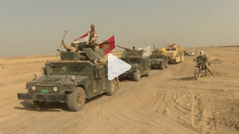 """بالفيديو .. القوات العراقية تزحف نحو الرمادي لتحريرها من """"داعش"""""""
