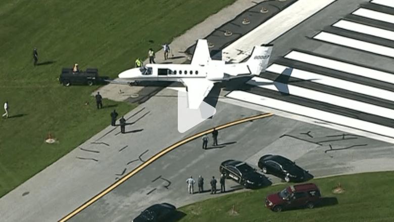 بالفيديو.. هبوط مرعب لطائرة أمريكية انزلقت عن المدرج
