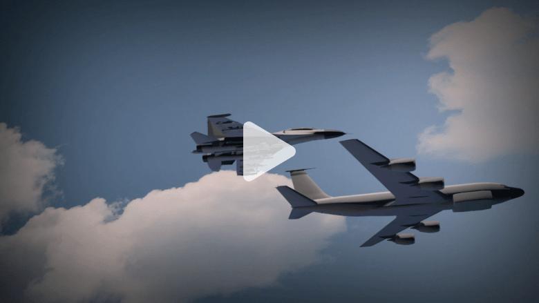 مرة أخرى .. مقاتلة روسية تحلق على بعد 10 أقدام فقط من طائرة  استطلاع أمريكية