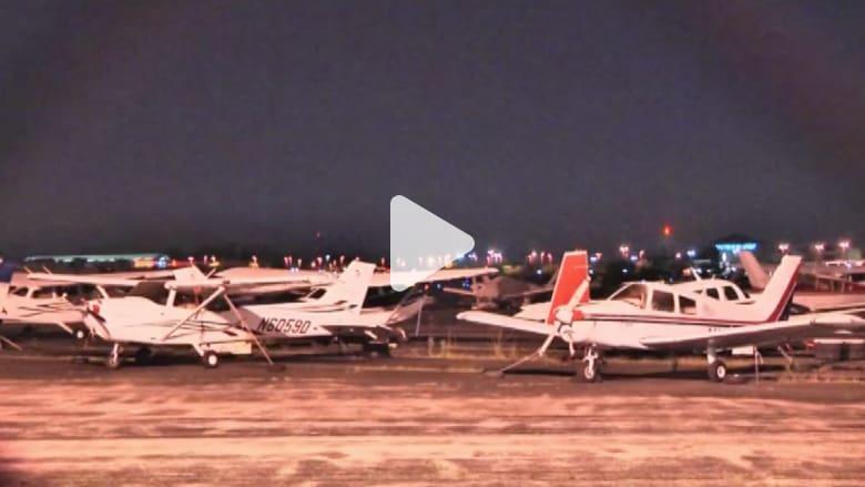 بالفيديو.. استهداف طائرات أمريكية بأشعة ليزر من مصدر مجهول