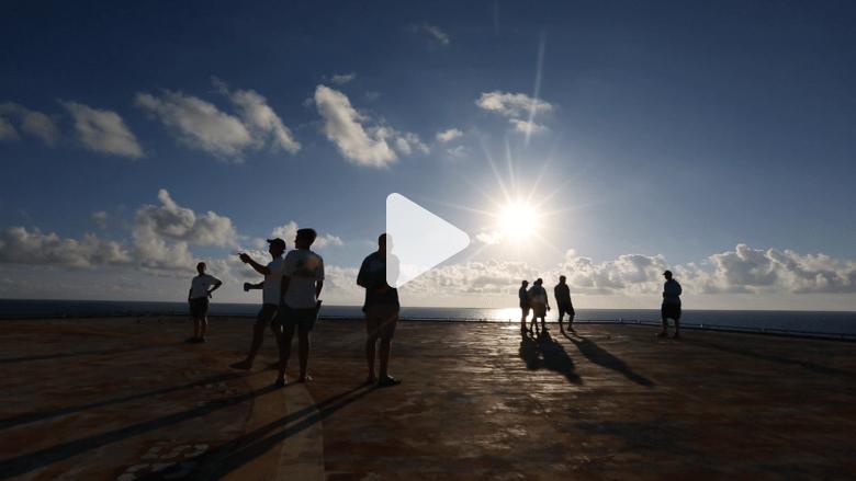 إذا كنت تبحث عن العزلة في وسط المحيط.. تعرف على برج Frying Pan