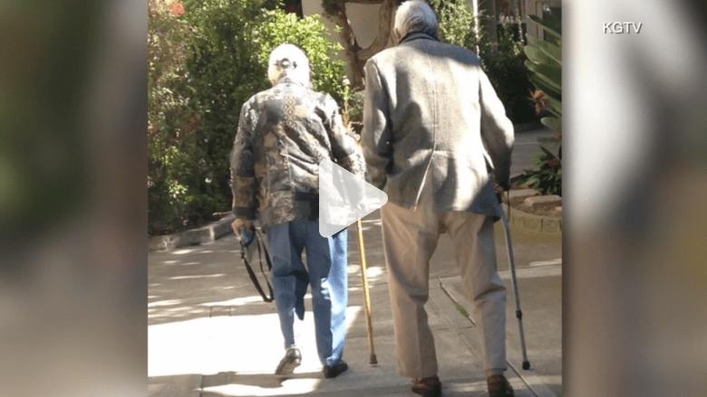زوجان يتوفيان بأحضان بعضهما وفي نفس الوقت تقريباً… بعيد زواجهما الـ75