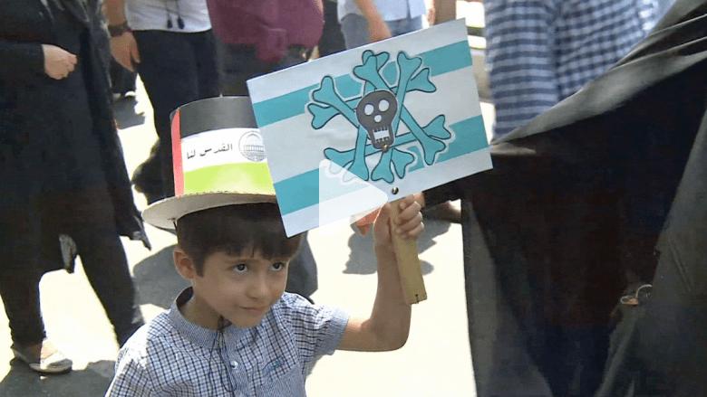 """""""الموت لإسرائيل"""".. شعارات هتف بها الإيرانيون في """"يوم القدس العالمي"""""""
