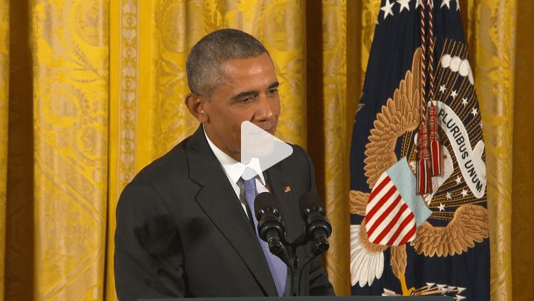 أوباما يدافع عن الاتفاق النووي.. ويوبخ صحفيا سأله عن 4 أمريكيين معتقلين في إيران